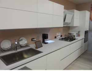 Photo of kitchen counter with electronics