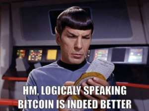 Dr. Spock on Bitcoin