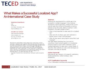 TecEd Whitepaper App Localization